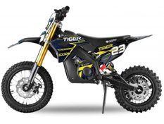 Tigre 1000W plomb 36V bleu 12/10 pouces Moto électrique enfant