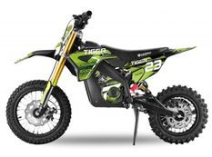 Tigre 1000W plomb 36V vert 12/10 pouces Moto électrique enfant