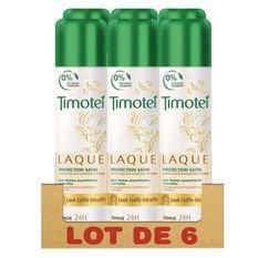 TIMOTEI Lot de 6 Laques Protection Satin - 250ml