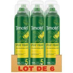 TIMOTEI Lot de 6 Sprays Fixation Extra Forte - 250ml