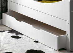 Tiroir de lit enfant évolutif bois blanc Féroé