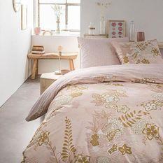 TODAY Parure de lit SUNSHINE 5.23 - 2 personnes - 220 x 240 cm coton - Imprimé Rose Floral