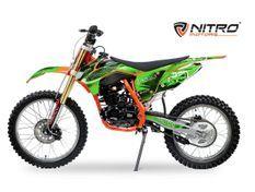 Tornado 250cc vert 21/18 pouces Moto cross adulte