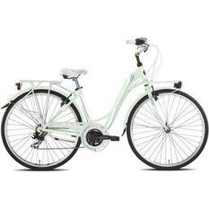 TORPADO Vélo ville Partner 28'' - cadre alu - 6 vitesses - SHIMANO