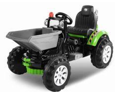 Tracteur électrique Vert avec godet 2 x 30W