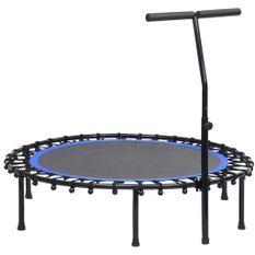 Trampoline de fitness avec poignée 122 cm