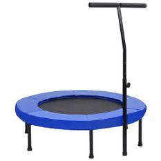 Trampoline de fitness avec poignée et coussin de sécurité 102cm