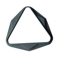 Triangle plastique Gris 50,8 mm