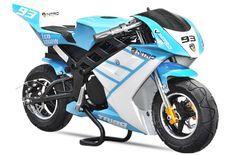Tribo 1060W bleu Moto de course électrique