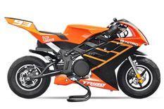 Tribo 1060W orange Moto de course électrique