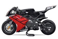 Tribo 1060W rouge Moto de course électrique