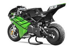 Tribo 1060W vert Moto de course électrique