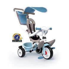 Tricycle Baby Balade Plus Bleu - SMOBY