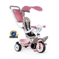 Tricycle Baby Balade Plus Rose - SMOBY