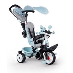 Tricycle Baby Driver Plus Bleu - SMOBY