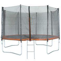 TRIGANO Trampoline avec filet de sécurité 366 cm