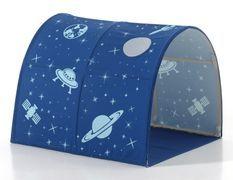 Tunnel de lit tissu bleu Astro