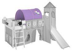 Tunnel parme Dinsey Reine des neiges pour lit mezzanine enfant