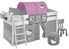 Tunnel rose Hello Kitty pour lit mezzanine enfant