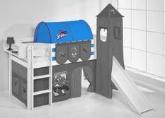 Tunnel Spiderman pour lit mezzanine enfant
