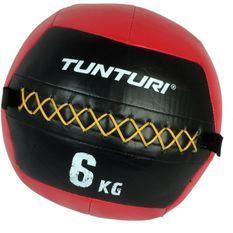 TUNTURI Balle murale wall ball crossfit 6kg rouge