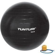 TUNTURI Gym ball ballon de gym 55cm noir