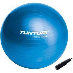TUNTURI Gym ball ballon de gym 65cm bleu