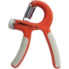 TUNTURI Haltere pour les doigts crispateur ajustable - résistance faible, orange