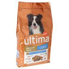 ULTIMA Repas équilibré Light au poulet, aux légumes et fruits - Pour chien adulte - (x1)