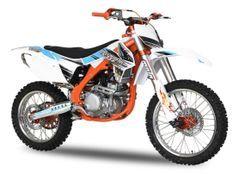 Ultimate 250cc orange 21/18 pouces Dirt bike