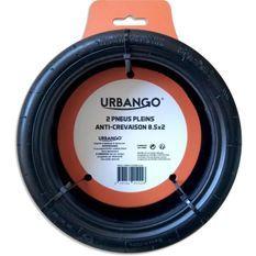URBANGO Lot 2 pneus plein - Haute qualité - Anti-Crevaison - Compatible XIAOMI MIJA/M365