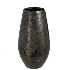 Vase antique céramique noir Ysarg H 35 cm