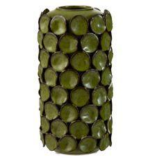 Vase céramique vert Jibel H 31 cm
