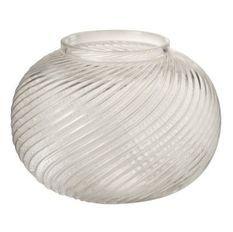 Vase verre transparent Neela H 17 cm