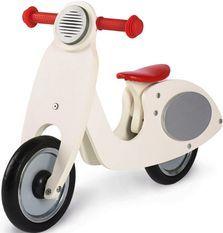 Vélo draisienne enfant bouleau blanc et rouge laqué Vespa Wanda