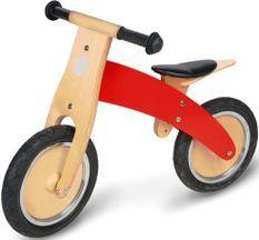 Vélo draisienne enfant bouleau clair et rouge laqué Jojo