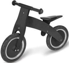 Vélo draisienne enfant bouleau noir laqué Pirat