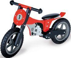 Vélo draisienne enfant bouleau rouge et noir Motorrad Mika
