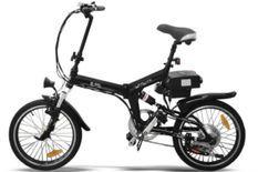 Vélo électrique E-Go Quick Line 250W noir