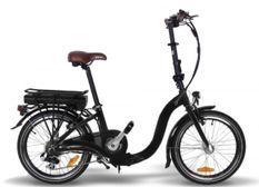 Vélo électrique Nice 250W lithium noir E-Go Quick