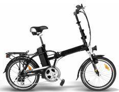 Vélo électrique pliant Monaco 250W lithium noir E-Go Quick