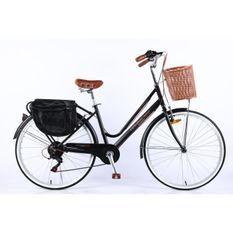 Velobecane Honfleur Vélo de ville Noir