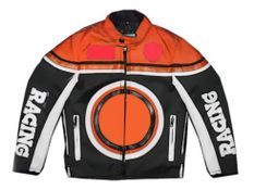 Veste de cross orange enfant Racing