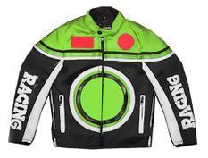 Veste de cross vert enfant Racing