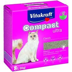 VITAKRAFT Litiere Compact Ultra - 8 L - Pour chat