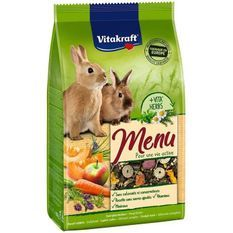 VITAKRAFT Menu Vital - Pour lapins nains - 2,5 kg