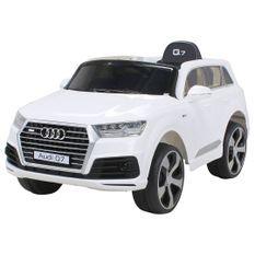 Voiture électrique Audi Q7 blanche