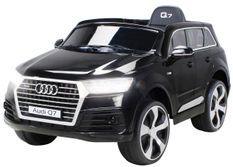 Voiture électrique Audi Q7 noir
