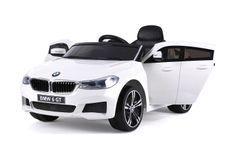 Voiture électrique BMW 6 RC blanc