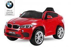 Voiture électrique BMW X6M luxe rouge